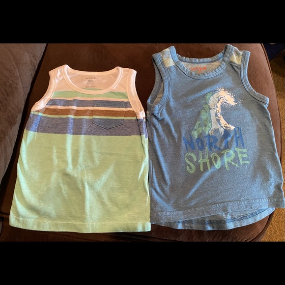 Beach tank tops ( 2 pieces)